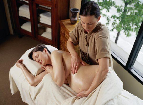 Массаж при беременности