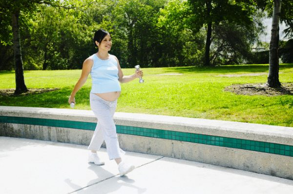 Прогулки при беременности