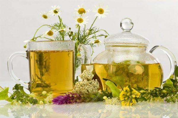 Чай с успокаивающими травами