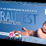 Тест на овуляцию Frautest Ovulation в кассете