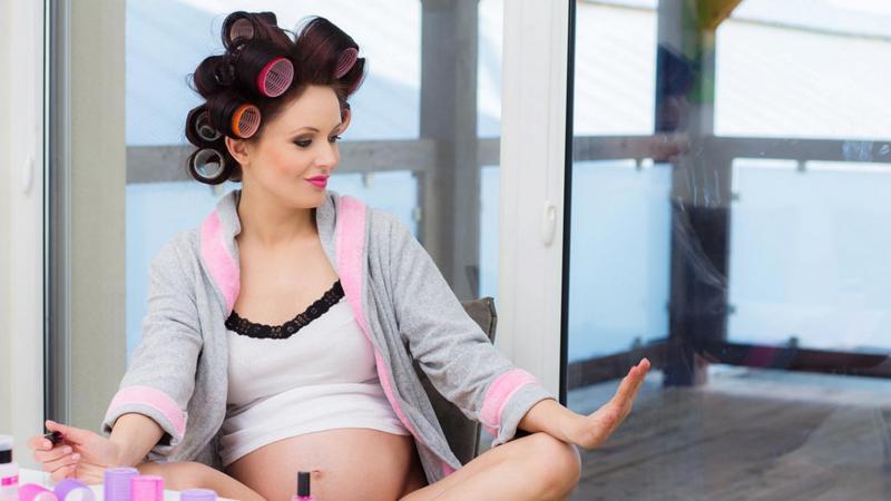 Как ухаживать за ногтями во время беременности