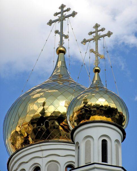 Купола православного храма