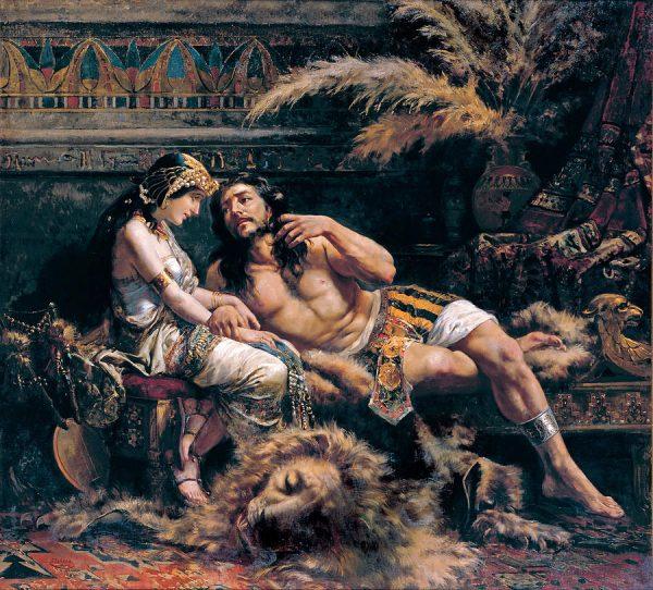 Картина «Самсон и Далила»