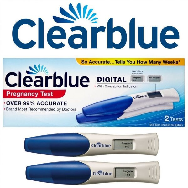 Упаковка теста Clearblue Digital