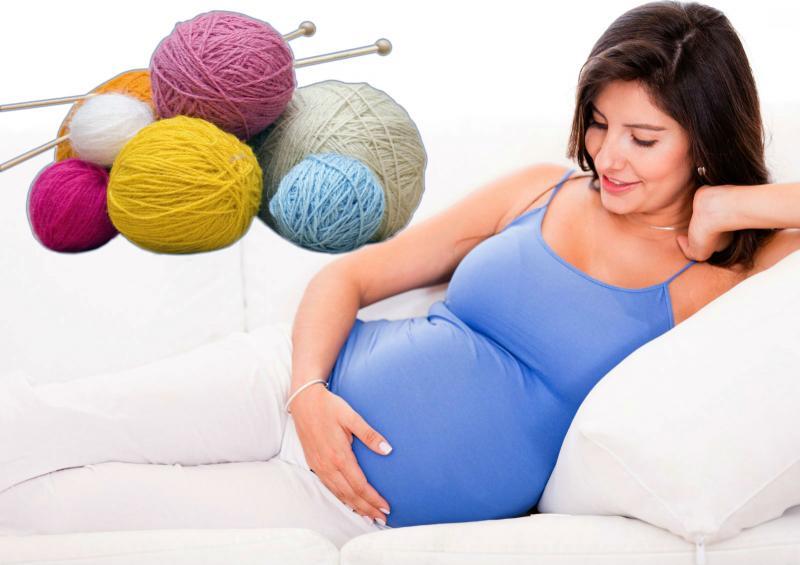 Можно ли беременным вязать спицами или крючком
