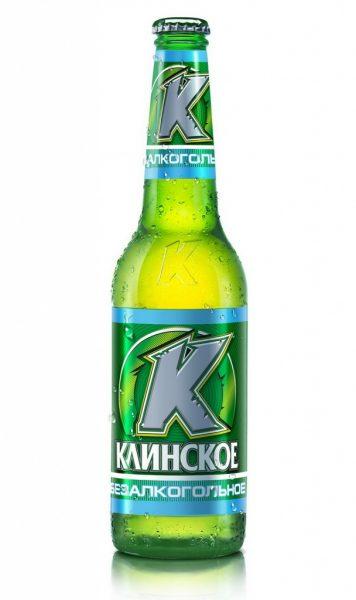 Безалкогольное пиво в бутылке