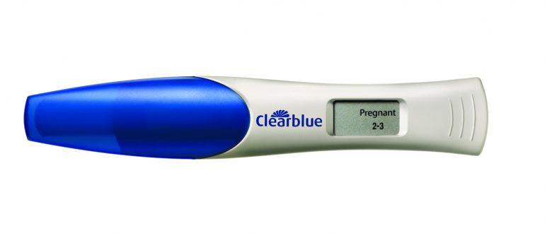 электронный тест на беременность
