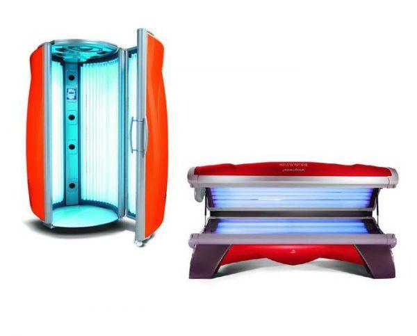 Горизонтальный и вертикальный солярий