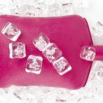 Грелка с кубиками льда