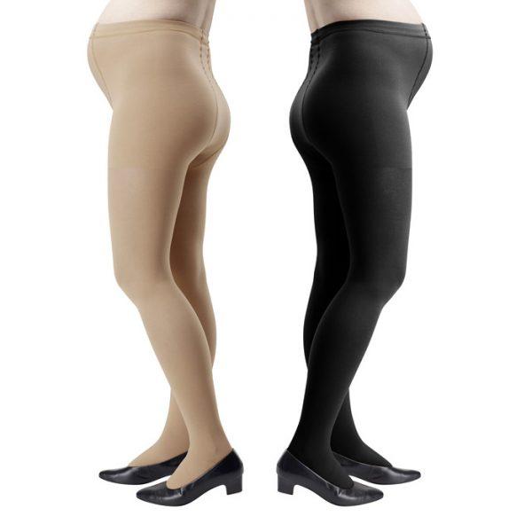 ноги беременных в компрессионных колготках