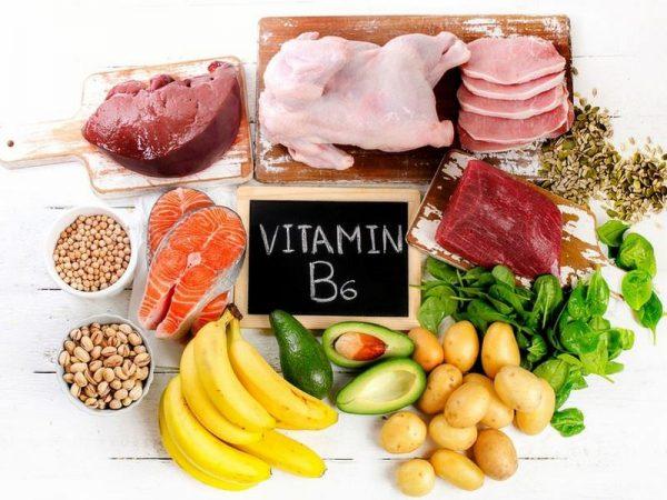 Продукты — источники витамина В6
