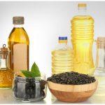 Растительное масло в бутылках