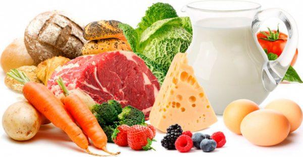 Различные продукты питания