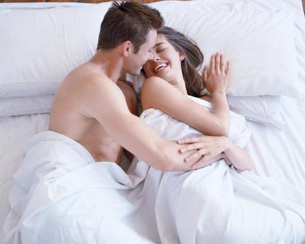 Супруги в постели