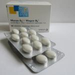 Упаковка и таблетки Магне B6