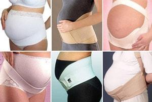 Как может выглядеть бандаж для беременной