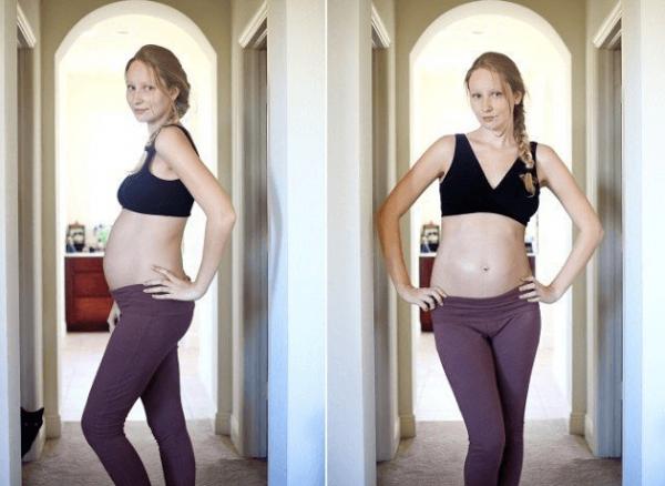 Как выглядит беременная на 26-й неделе