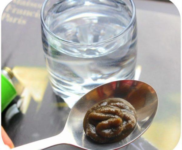 Паста Фитолизин в чайной ложке