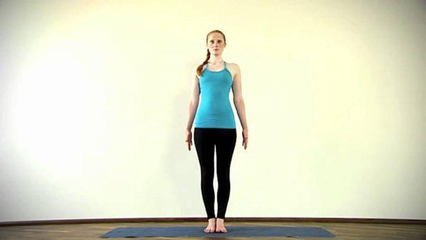 Упражнение Тадасана